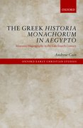 Cover for The Greek <i>Historia Monachorum in Aegypto</i>