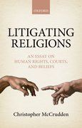 Cover for Litigating Religions - 9780198759041