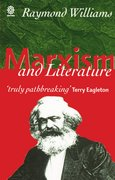 Cover for Marxism and Literature