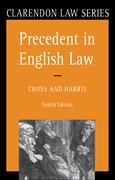 Cover for Precedent in English Law