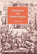 Cover for Punishment and Modern Society