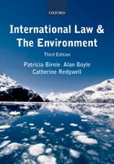 Cover for International Law and the Environment