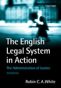 Cover for The English Legal System in Action
