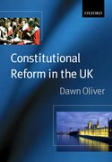 Cover for Constitutional Reform in the United Kingdom