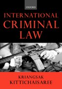 Cover for International Criminal Law