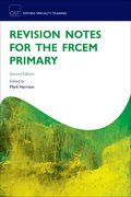 Cover for Revision Notes for the FRCEM Primary