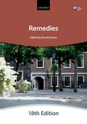 Cover for Remedies