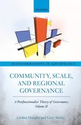 Cover for Community, Scale, and Regional Governance