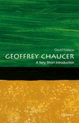 Cover for Geoffrey Chaucer: A Very Short Introduction
