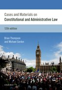 Cover for Cases & Materials on Constitutional & Administrative Law