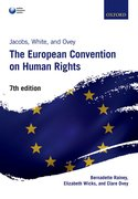 Cover for Jacobs, White, and Ovey: The European Convention on Human Rights