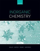 Cover for Inorganic Chemistry - 9780198768128