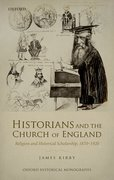 Cover for Historians and the Church of England