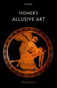 Cover for Homer's Allusive Art - 9780198768821