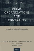 Cover for Firms, Organizations and Contracts