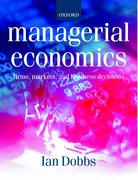 Cover for Managerial Economics