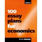 Cover for 100 Essay Plans for Economics