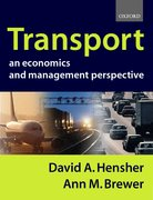Cover for Transport: An Economics and Management Perspective