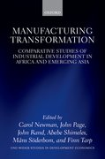 Cover for Manufacturing Transformation - 9780198776987