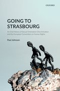 Cover for Going to Strasbourg