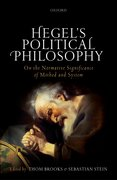 Cover for Hegel's Political Philosophy - 9780198778165
