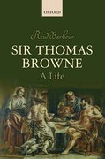 Cover for Sir Thomas Browne - 9780198778356