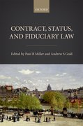 Cover for Contract, Status, and Fiduciary Law