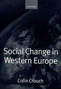 Cover for Social Change in Western Europe
