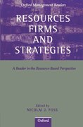 Cover for Resources, Firms, and Strategies