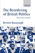 Cover for The Reordering of British Politics
