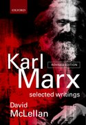 Cover for Karl Marx: Selected Writings