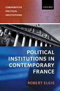 Cover for Political Institutions in Contemporary France