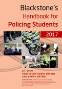 Cover for Blackstone's Handbook for Policing Students 2017 - 9780198783008