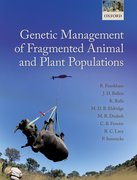 Cover for Genetic Management of Fragmented Animal and Plant Populations - 9780198783398