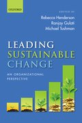 Cover for Leading Sustainable Change