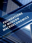 Cover for Foundations of Modern Macroeconomics: Exercise and Solution Manual Pack - 9780198784159