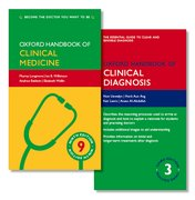 Cover for Oxford Handbook of Clinical Medicine and Oxford Handbook of Clinical Diagnosis Pack