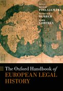 Cover for The Oxford Handbook of European Legal History