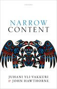Cover for Narrow Content - 9780198785965