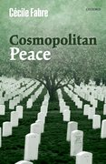 Cover for Cosmopolitan Peace - 9780198786245