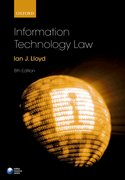 Cover for Information Technology Law