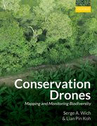 Cover for Conservation Drones - 9780198787617