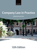 Cover for Company Law in Practice