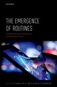 Cover for The Emergence of Routines