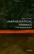 Cover for Mathematical Finance: A Very Short Introduction