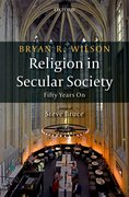 Cover for Religion in Secular Society - 9780198788379