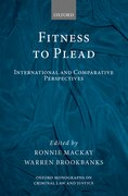 Cover for Fitness to Plead