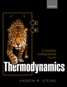 Cover for Thermodynamics - 9780198788577