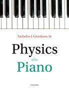 Cover for Physics of the Piano - 9780198789147