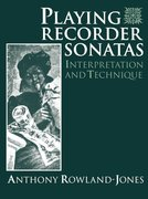 Cover for Playing Recorder Sonatas